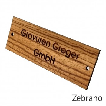 Vintage Türschild aus Holz rechteckig