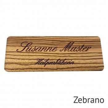 Vintage Namensschild Holz