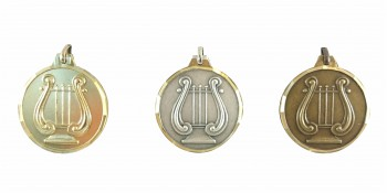 Lyra Medaille Diamond Edge R741