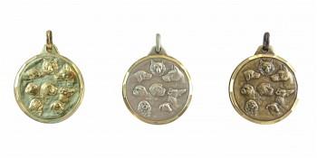 Hunderassen Medaille Diamond Edge R753
