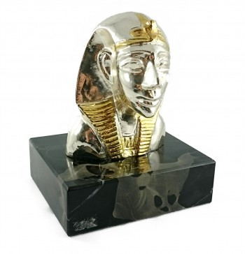 Metallskulptur Königin Theben