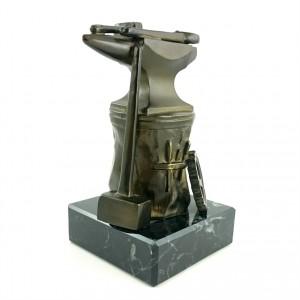 Metallskulptur Amboss Schmied