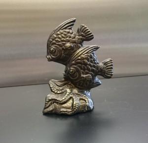 Metallskulptur Zierfische