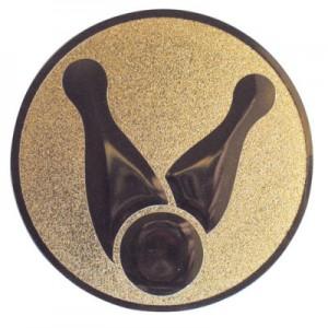 Emblem Kegeln