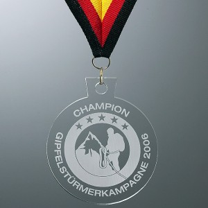 Acrylglas-Medaille 5642