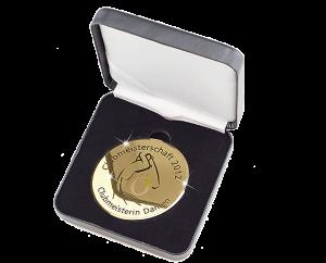 High-Gloss Finish Medal Ø58mm 5655