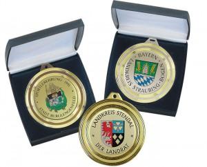 Diamond Shape Medaille Ø70mm 5667