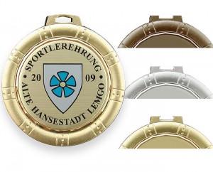 Massive Medaille Ø70mm 5681