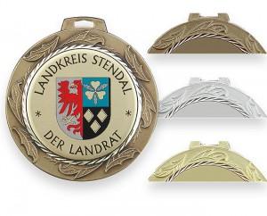 Massive Medaille Ø70mm 5682