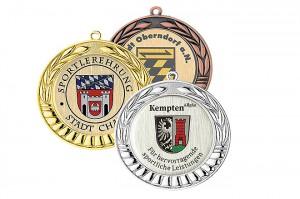 Medaille Ø70mm 5699