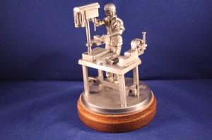 Schlosser / Industriemechaniker (Zinnfigur handgegossen)