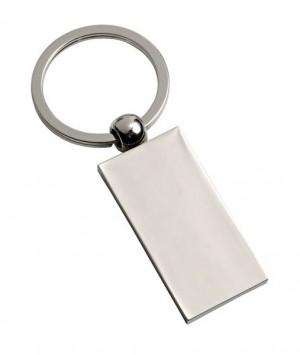 Schlichter rechteckiger Schlüsselanhänger