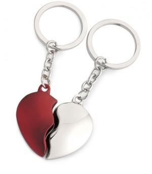 Schlüsselanhänger 2 Hearts Colour
