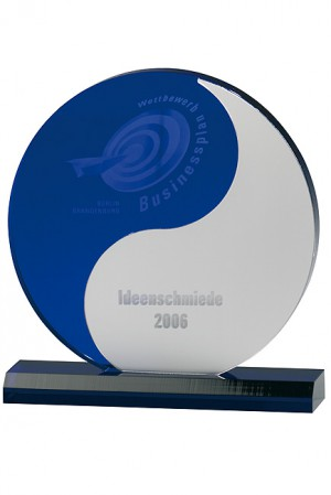 Yin and Yang Acryl Award 7313