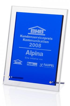 Blue Angular Acryl Award 7324