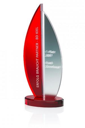 Rosedale Fire Acryl Award 7330