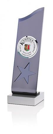 Star Wave Acryl Pokal 7383