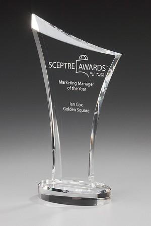 Number One Acryl Award 7404