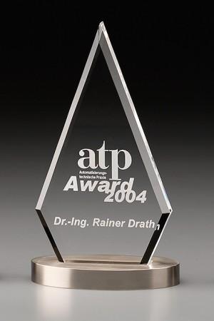 Metal Pyramid Acryl Award 7431