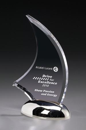 Metal Catalina Acryl Award 7437
