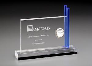 Blue Time Acryl Award 7444