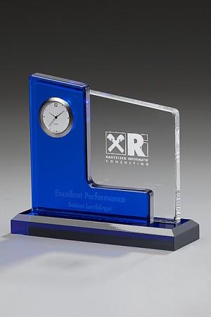 Liquid Blue Acryl Award 7447