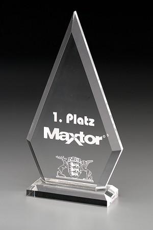Clipped Pyramid Acryl Award 7466