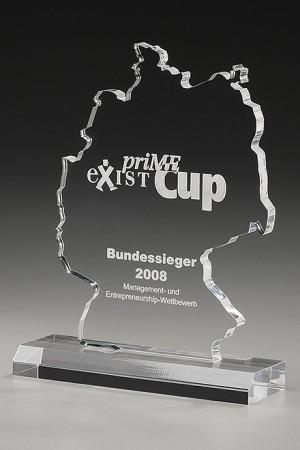 Map op Germany Acryl Award 7488 A