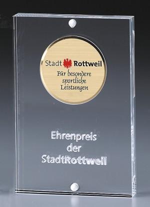 Acryleinfassung für Ø58mm-Medaillen