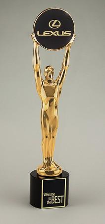 Champions Award vergoldet 78800