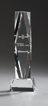 Crystal President Glas Award 7946