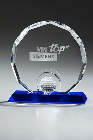 Golf Circle Diamond Glas Award 7955/Golf
