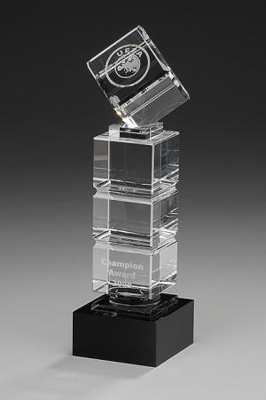 Cube Tower Glas Award 7969