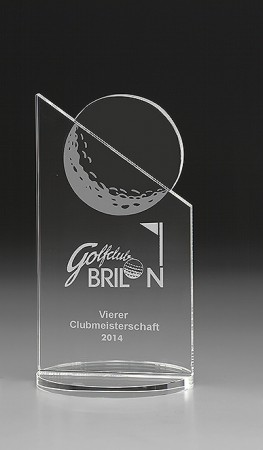 Golf Peak Glas Award 7992/Golf