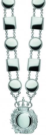 Moderne Königskette mit 12 polierten Kettengliedern