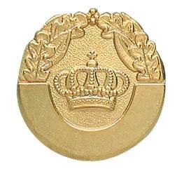 Königsabzeichen vergoldet