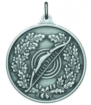 Medaille mit Bogen und Zielscheibe