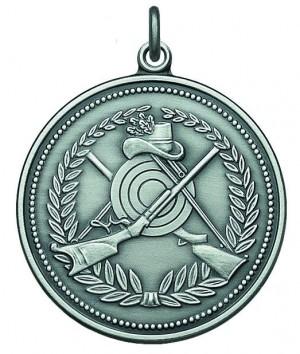 Medaille mit Schützenmotiv