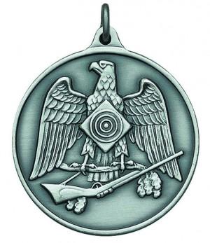 Medaille mit Schützenadler