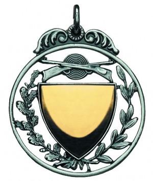 Filligrane Medaille mit Wappen