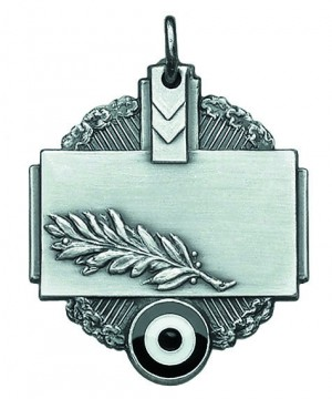Medaille mit Eichenzweig