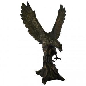 Metallskulptur Adler