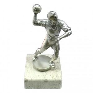 Metallfigur Handballer