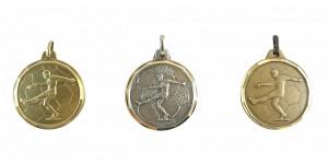 Fußball Medaille Diamond Edge R777