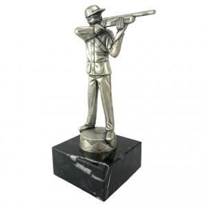 Metallfigur Schütze
