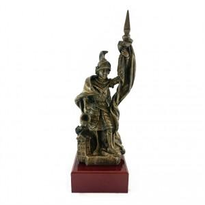 Metallskulptur St. Florian Feuerwehr
