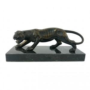Metallskulptur Tiger